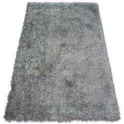 Koberec SHAGGY LILOU stříbro