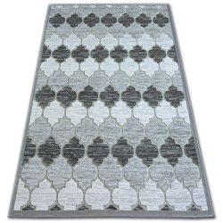 Koberec ACRYLOVY YAZZ 3766 šedá/slonová kost Trellis