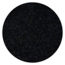 Koberec kruh TRENDY 159 černý