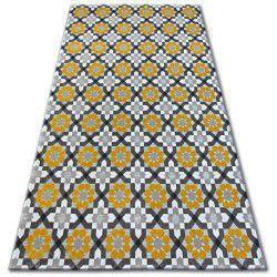 Koberec LISBOA 27206/275 Květiny Žlutý