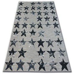 Koberec LISBOA 27219/956 Hvězda Černá