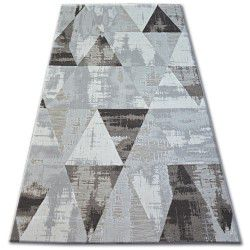 Koberec LISBOA 27216/655 Trojúhelníky Hnědý