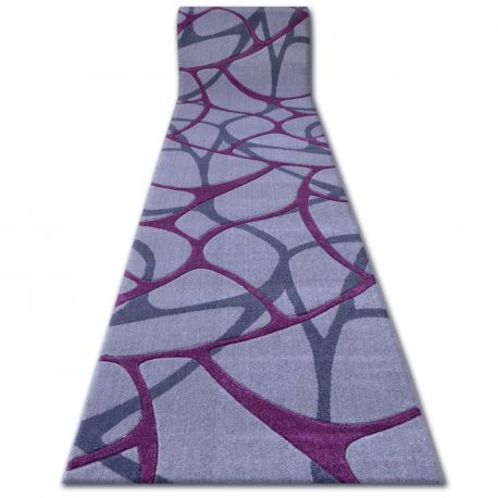 Béhoun HEAT-SET FRYZ FOCUS - F241 šedá purpurová síť