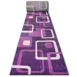 Béhoun HEAT-SET FRYZ FOCUS - F240 fialový fialové čtverce