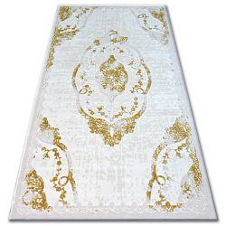 Koberec ACRYLOVY BEYAZIT 1800 C. Ivory/Gold