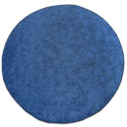 Carpet kruh SERENADE modrý