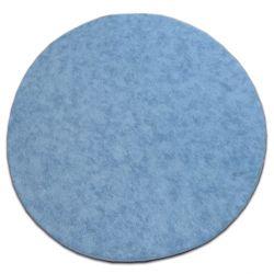 Carpet kruh SERENADE jasně modrý