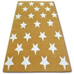Koberec SKETCH - FA68 zlato/krém - Hvězda