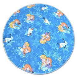 KOBEREC kruh FROZEN modrý ELSA