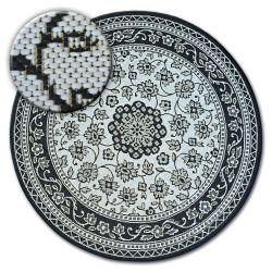 Koberec kruh FLAT 48691/690 SISAL - vitráže