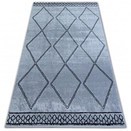 Koberec BCF BASE ETNO 3964 DIAMANTY šedá/černá