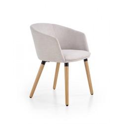 Židle K266 jasně šedá