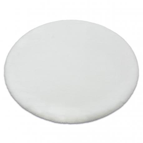 Koberec BUNNY kruh bílá