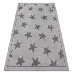 Koberec BCF ANNA Stars 3105 hvězdy šedá
