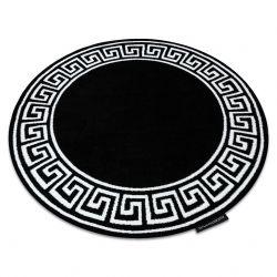 Koberec HAMPTON Grecos kruh černý