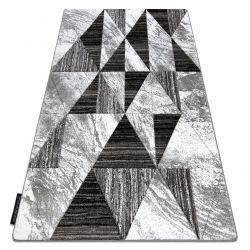 Koberec ALTER Nano trojúhelníky šedá