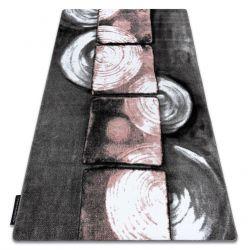 Koberec INTERO PHONO 3D Čtverce růžový