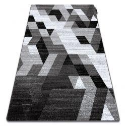 Koberec INTERO TECHNIC 3D diamanty trojúhelníky šedá