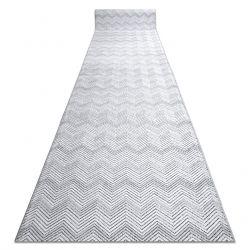 Béhoun Structural SIERRA G5010 ploché tkané šedá - geometrický, zigzag