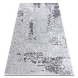 Moderní koberec MEFE 8731 Vintage - Structural dvě úrovně rouna šedá