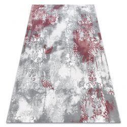 Koberec ACRYLOVY VALS 0W9995 H03 75 Ornament vintage světle šedá / růžový