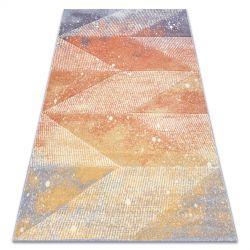 Koberec FEEL 5756/17944 Diamanty béžový/terakota/fialový