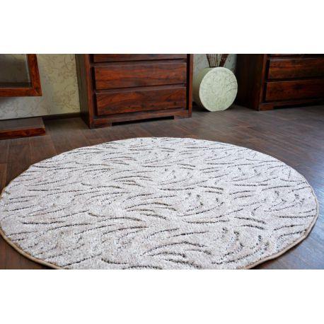 Carpet kruh IVANO hnědý