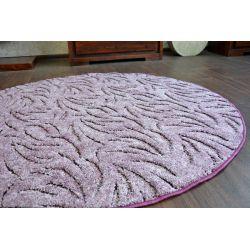 Carpet kruh IVANO fialový