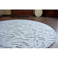 Carpet kruh IVANO šedá