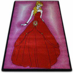 Koberec KIDS Princezna růžový C425