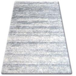 Koberec SHAGGY ZENA 3383 šedá / bílý