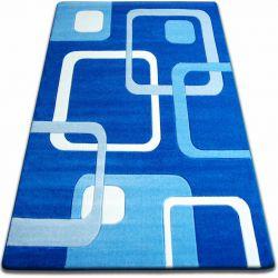 Koberec FOCUS - F240 modrý čtverce