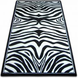 Koberec FOCUS - 9032 ZEBRA černá a bílá