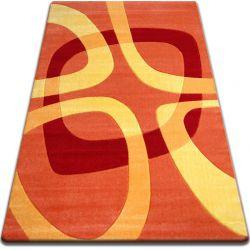Koberec FOCUS - F242 oranžový kvadrát čtverec