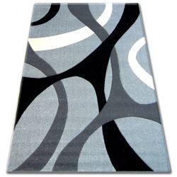 Koberec PILLY 7848 - stříbro/antracit