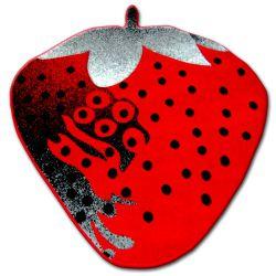 Koberec pro děti HAPPY C298 JAHODA červená