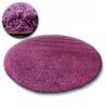 Koberec kruh SHAGGY GALAXY 9000 fialový