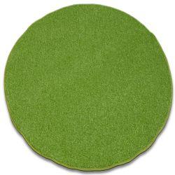 Koberec kruh INVERNESS zelená
