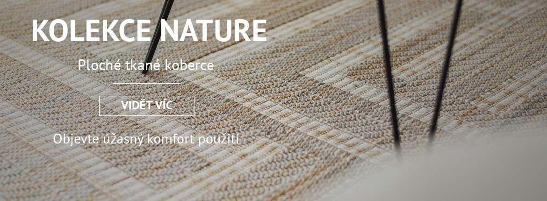 Ploché tkané koberce, sizal, FLOORLUX, FLAT, NATURE, COLOR